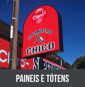 PAINEIS E TÓTENS